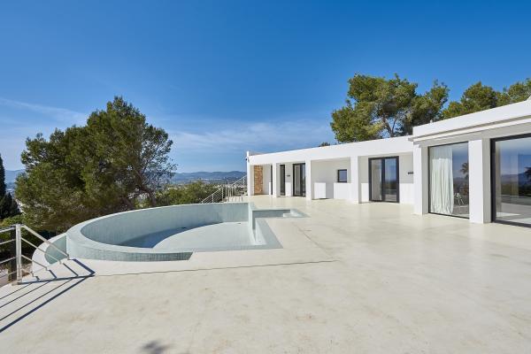 Contemporary Design Villa In Can Rimbau For Sale In Ibiza